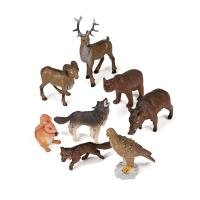 Animales bosque  8 figuras