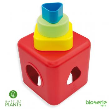 BioSerie SHAPE SORTING AND STACKING CUBE